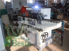 Wooden stick making machine, wooden stick shape forming machine