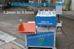 Bamboo Stick Making Machine, MBZS-2A Bamboo wool slicer