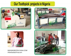 Our Bamboo Toothpick Projects in Nigeria