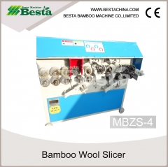 MBZS-4 Bamboo Wool Slicer, Bamboo Stick Making Machine